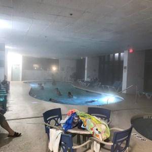 Small indoor pool Grande Shores ocean resort hotel Myrtle Beach south carolina