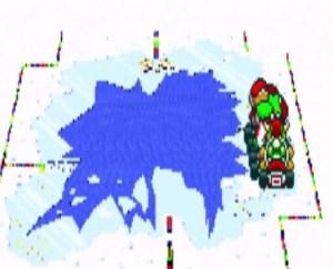 Vanilla Lake 2 super Mario Kart snes Nintendo