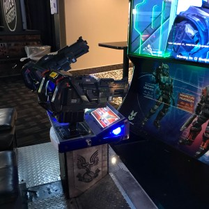 Halo fire team raven arcade game Dave and Buster's Greenville