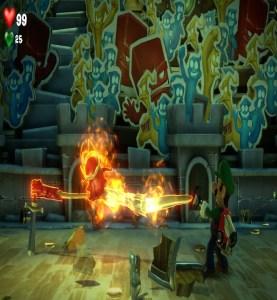 Luigi captures King MacFrights Luigi's Mansion 3 Nintendo Switch