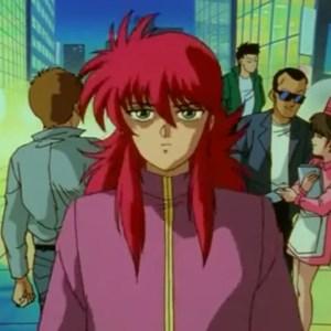 Kurama meets Yusuke Urameshi first time Yu Yu Hakusho anime Japan