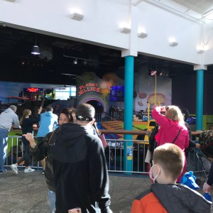 Tourists ripley's Aquarium Myrtle Beach south carolina