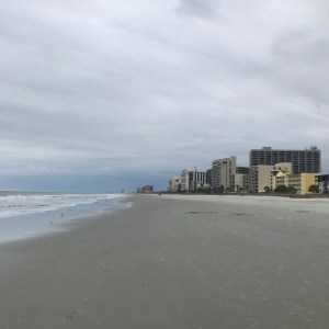 Buildings and beach Myrtle Beach south carolina