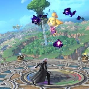 Isabelle VS Sephiroth Super Smash Bros. Ultimate Nintendo Switch