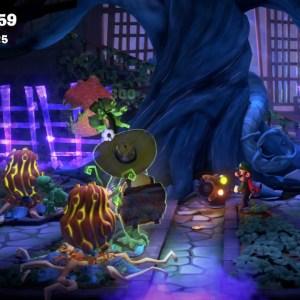 Dr. Potter Luigi's Mansion 3 chainsaw Nintendo Switch