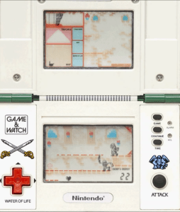 Nintendo game and watch the legend of Zelda