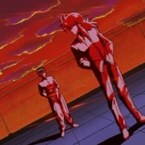 Kurama tells Yusuke Urameshi that he was yoko Yu Yu Hakusho anime Japan