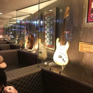 Famous guitars hard rock Cafe Myrtle Beach south carolina