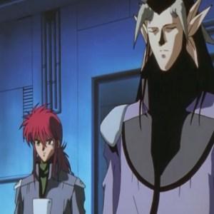 Kurama and yomi reunite Yu Yu Hakusho anime Japan