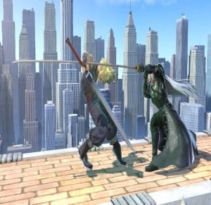 Cloud strife VS Sephiroth Super Smash Bros. Ultimate Nintendo Switch