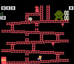 Intellivision Donkey Kong Nintendo