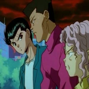 Yusuke and genkai chapter black saga Yu Yu Hakusho anime Japan