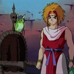 Suzaku and parrot Yu Yu Hakusho anime Japan