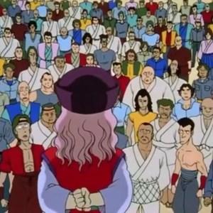 Genkai holds tournament Yu Yu Hakusho anime Japan