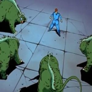 Byakko monsters vs Kazuma Kuwabara Yu Yu Hakusho anime Japan