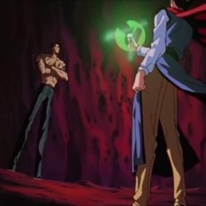 Koenma vs Shinobu Sensui Yu Yu Hakusho anime Japan