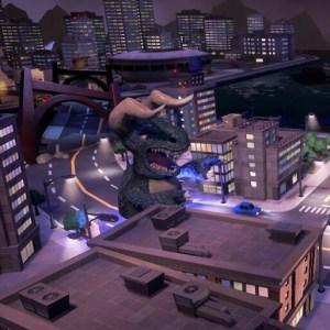 Godzilla boss luigi's Mansion 3 Nintendo Switch