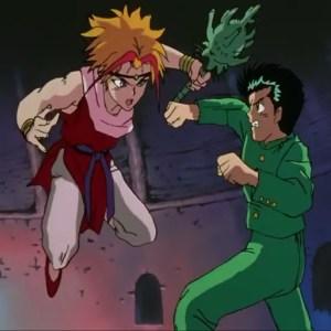 Yusuke Urameshi VS suzaku Yu Yu Hakusho anime Japan