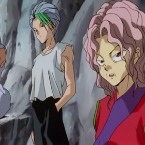 Genkai trains demons for Yomi Yu Yu Hakusho anime Japan