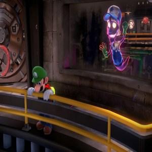 Clem floods the basement luigi's Mansion 3 Nintendo Switch