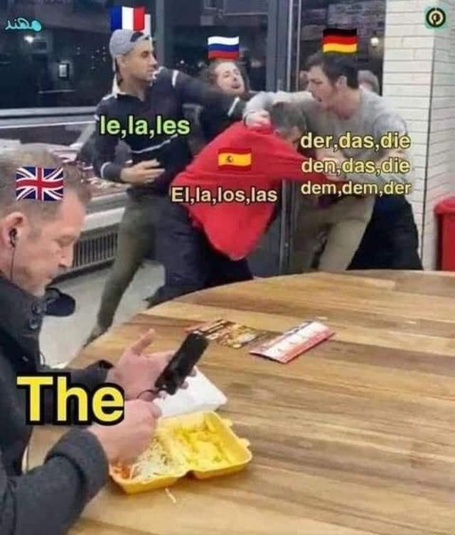 Memes English language the