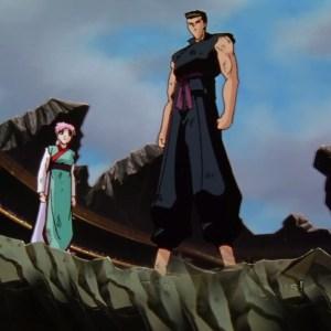 Young genkai and toguro dark tournament Champions Yu Yu Hakusho anime Japan