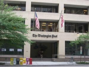 Washington post building Washington DC United States of America