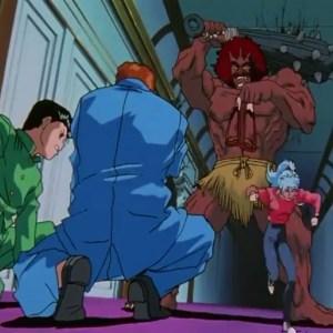 Gokumonki vs Yusuke Urameshi Kazuma Kuwabara botan Yu Yu Hakusho anime Japan