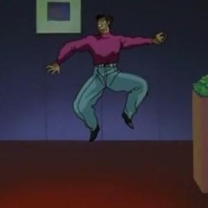 Shigeru Murota knocked out Yu Yu Hakusho anime Japan