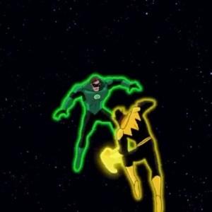 green lantern first flight Hal Jordan vs sinestro