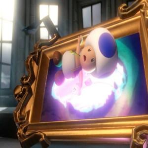 Luigi frees blue toad luigi's Mansion 3 Nintendo Switch