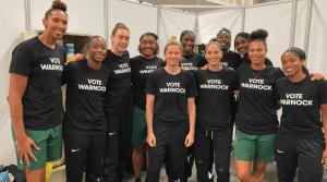 WNBA endorsing Raphael Warnock for senate