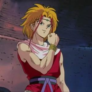 Suzaku first appearance Yu Yu Hakusho anime Japan