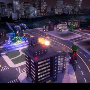 Godzilla boss battle luigi's Mansion 3 Nintendo Switch