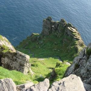 Skellig michael Irish island