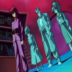 Kurama vs Yu Kaito lost souls Yu Yu Hakusho anime Japan