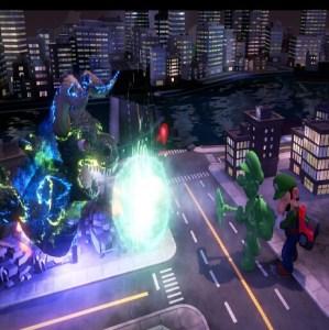 Godzilla VS gooigi luigi's Mansion 3 Nintendo Switch