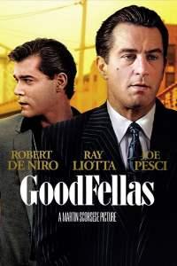 Goodfellas movie poster Martin Scorsese Robert De Niro Joe Pesci Ray Liotta