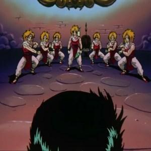 Suzaku seven clones Yu Yu Hakusho anime Japan