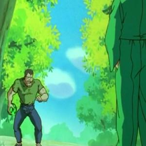 Yusuke Urameshi VS Goki Yu Yu Hakusho anime Japan