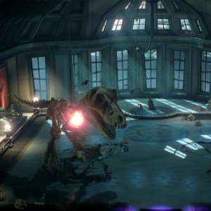 T-Rex ug boss battle luigi's Mansion 3 Nintendo Switch