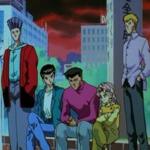 Shigeru Murota hears Yusuke's thoughts Yu Yu Hakusho Anime Japan