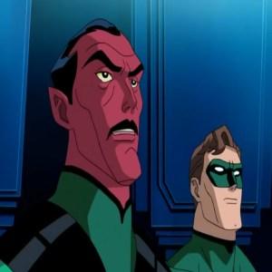 green lantern first flight Hal Jordan meets sinestro