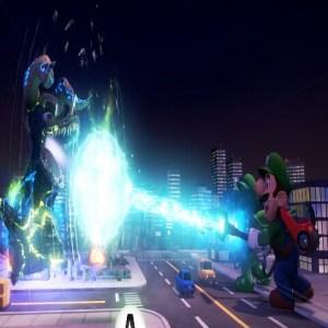 Luigi and gooigi VS Godzilla luigi's Mansion 3 Nintendo Switch
