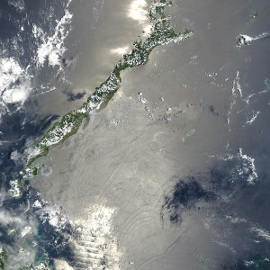 Sulu sea from space NASA