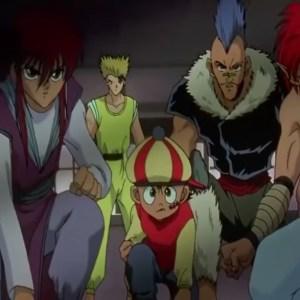 Kurama rinku chu suzuka three kings saga Yu Yu Hakusho anime Japan Yomi