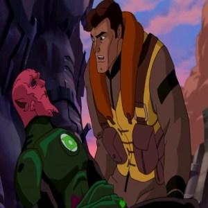 green lantern first flight Hal Jordan gets ring from Abin Sur