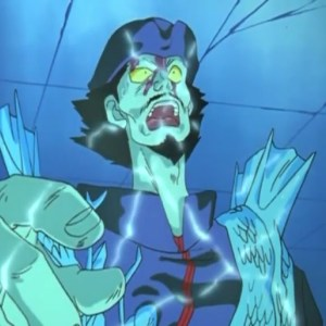 Seiryu defeated by hiei Yu Yu Hakusho anime Japan