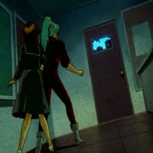 Keiko Yukimura and Botan vs kakai insect zombies Yu Yu Hakusho anime Japan
