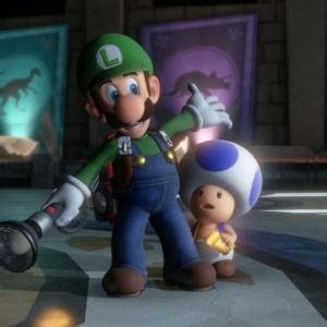 Luigi and blue toad luigi's Mansion 3 Nintendo Switch